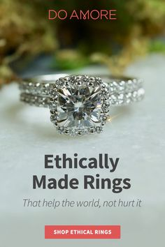 Every ethically crafted ring brings clean water to a developing country.