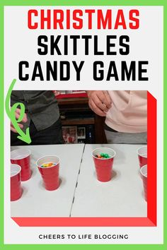 Skittle Candy Game: A Christmas Party Game Idea