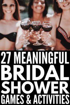 Trendy Classy Bridal Shower Ideas The Bride Ideas … - Modern Outdoor Bridal Showers, Simple Bridal Shower, Disney Bridal Showers, Bridal Shower Rustic, Wedding Shower Activities, Wedding Shower Games, Tea Party Bridal Shower, Bridal Shower Crafts, Wedding Showers