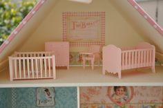 Miss Lacitos: Mobília da casinha de bonecas :: Doll house Furniture