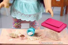 DIY American Girl Hamster Cage