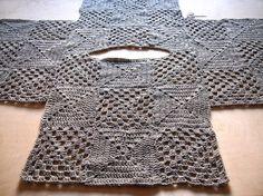 VMSomⒶ KOPPA: Vaaleanharmaa villaruutupaita Cannot understand the language, bu. : VMSomⒶ KOPPA: Vaaleanharmaa villaruutupaita Cannot understand the language, but I understand the layout of this design! Cardigan Au Crochet, Black Crochet Dress, Crochet Jacket, Crochet Cardigan, Crochet Shawl, Crochet Sweaters, Point Granny Au Crochet, Crochet Squares, Granny Squares