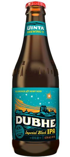 "Utah: Uinta Brewing ""Dubhe Imperial Black IPA"""