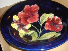 Moorcroft dish  found on MaxSold Belleville moving auction.