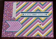 The Scrapbook Chick: CTMH Paper Focus Blog Hop - #ConfettiWishes #A1150CharmingChevrons #B1472LoveThisStory-HostessRewards #Artiste
