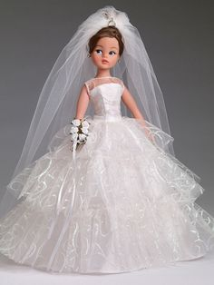 Bridal Bliss Sindy doll - American debut #sindy #Pedigree
