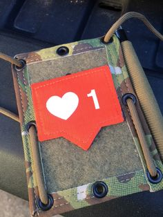 'Like' Patch – Stay The Course Industries