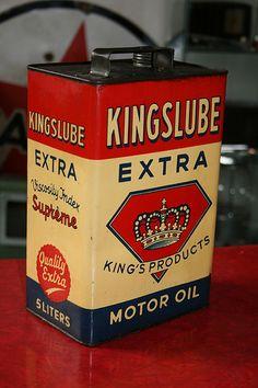kingslube oil can