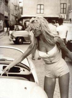 Brigitte Bardot à Sa