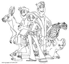 wild kratts coloring pages 04