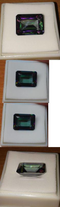 Topaz 10270: 11.50Ct 16X12mm Mystic Topaz Gemstone -> BUY IT NOW ONLY: $34.99 on eBay!