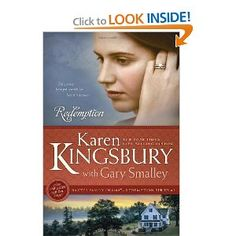Redemption by Karen Kingsbury.  Love her books.