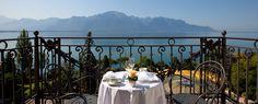 Fairmont Le Montreux Palace - Swiss Deluxe Hotels #Montreux #Switzerland #view