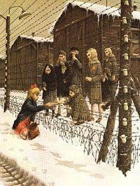 Rose Blanche by Roberto Innocenti - Bing Images Vintage Family Pictures, Holocaust Survivors, Jewish Art, Military Art, Kirchen, Historical Photos, World War Ii, Illustrators, Crime
