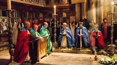 Evensong and Procession on the Feast of St Cuthbert
