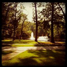 Central park in Ashland, KY...many childhood memories with my Uncle Crawford here.