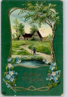 1913 Pfingsten Vergissmeinnicht: Ansichtskarten-Center Onlineshop