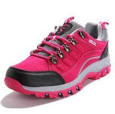 winter high top hiking shoes women outdoor waterproof hiking shoes mountain zapatillas trekking mujer shoes warm snow boots 298k