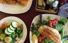 Cenas fit para quienes buscan perder grasa o mantenerse