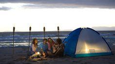 Best beach campsites
