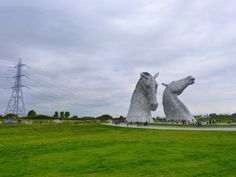 The Kelpies - Horses Heads in Falkirk, Scotland by Ludovic Farine on 500px