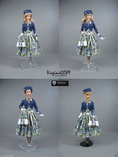 Tenue Outfit Accessoires Pour Fashion Royalty Barbie Silkstone Vintage 1336   eBay