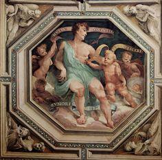 Allegoria della concordia (mutua benevolenza) (1529-1535; Siena, Palazzo Pubblico, Sala del Concistoro)