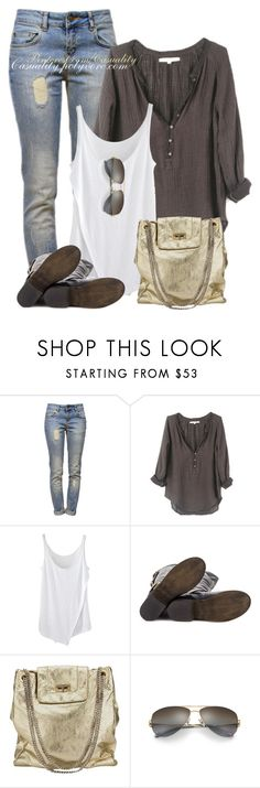 """Rustic Chic"" by casuality ❤ liked on Polyvore featuring Anine Bing, Xirena, Steve Madden, Chanel, Tiffany & Co., rustic and vintage"