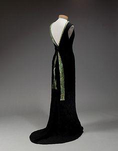 Evening dress 1934 - Elsa Schiaparelli