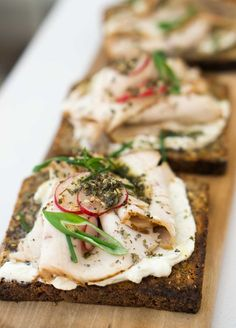French tartines (open faced sandwiches) at Echo in Paris