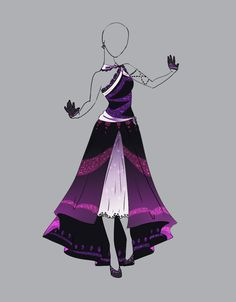 .::Outfit Adopt 13(OPEN)::. by Scarlett-Knight.deviantart.com on @deviantART