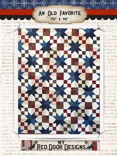 An Old Favorite Quilt Kit by myreddoordesigns on Etsy, $125.00