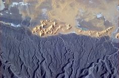 """Chris Hadfield   """"I don't think that sand came from those rocks."""""""