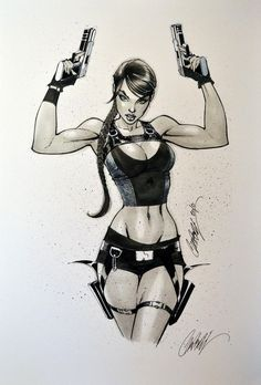 Tomb Raider/Lara Croft by J Scott Campbell