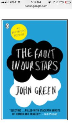 The Fault in Our Stars- super easy read- great book