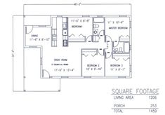1000 images about shop w living quarters on pinterest Garage with living quarters floor plans