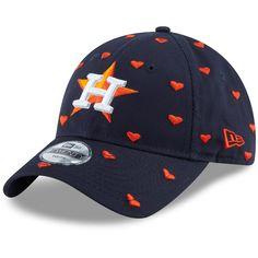 quality design fe6e1 2db56 Youth Houston Astros New Era Navy Lovely Fan 9TWENTY Adjustable Hat,  19.99
