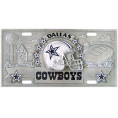 Dallas Cowboys Collector s License Plate Dallas Cowboys License Plate 8f26daa62