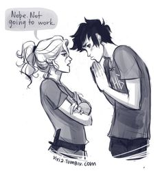 Annabeth Chase and Percy Jackson pt 1