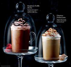 Starbucks Philippines Raspberry Truffle Mocha and Chestnut Praline Latte
