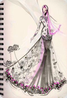 Hijab #Style #Muslim #Sketch
