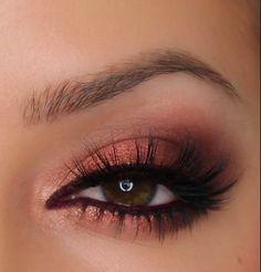 Copper Eyes – Zoeva Rose Golden Palette