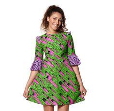 Empire Flap Dress