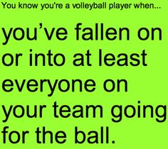 In your face.) You know you're a volleyball player when. Volleyball Jokes, Volleyball Problems, Volleyball Drills, Coaching Volleyball, Volleyball Sayings, Volleyball Ideas, Volleyball Pictures, Beach Volleyball, Volleyball Inspiration