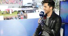 Adam Lambert backstage at Fusion Festival 2015