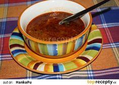 Dršťková polévka z hlívy ústřičné Pickles, Tea Cups, Recipies, My Favorite Things, Tableware, Jars, Diet, Red Peppers, Recipes