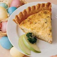 Winning Crab Quiche Recipe -Crabmeat is very plentiful here in Maryland, and this dish is one of my favorite ways to eat it. My sister-in-law Darlene gave me this recipe, and that simple gesture helped make me feel part of the family. Seafood Quiche, Crab Quiche, Frittata, Salmon Quiche, Spinach Quiche, Cheese Quiche, Crab Recipes, Quiche Recipes, Brunch Recipes
