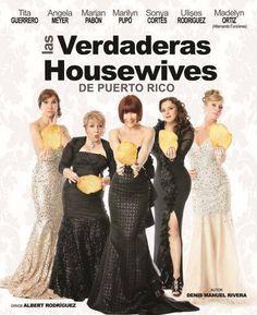 """Llega a Ponce la comedia que llevas esperando, """"Las Verdaderas Housewives de Puerto Rico """" presentándose el 7 de marzo en el Teatro La Perla en Ponce. Escoge tu asiento en www.tcpr.com"""