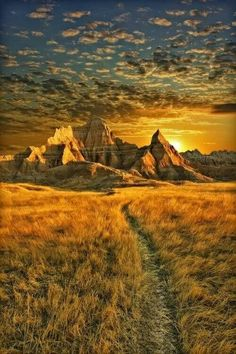 Bad lands ,South Dakota
