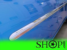 This Nissan Leaf Zero Emission got custom molding done on it, yes we do that too!